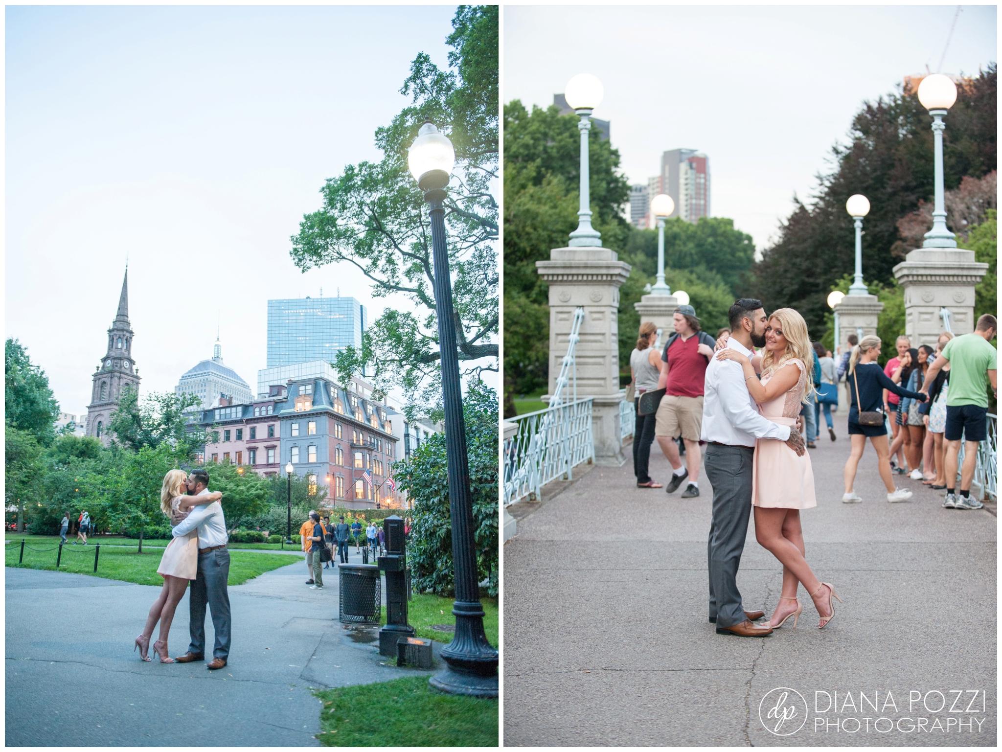 Fenway Park Engagement Session Diana Pozzi Photography